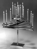 One of a pair of 15-light Candelabra