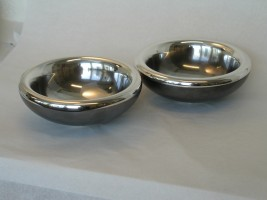 Pair of double-skinned Bowls
